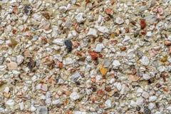 Pebble dash wall macro. Textured background stock photos
