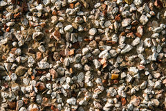 Pebble dash wall Royalty Free Stock Photography
