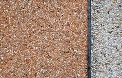 Pebble dashed concrete wall Royalty Free Stock Photos