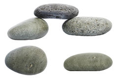 Pebble Elements Royalty Free Stock Photos