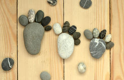 Pebble family. Image of pebble family concept royalty free stock image