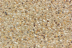 Pebble gravel floor. Background and wallpaper stock photos