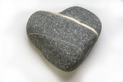 Pebble heart Royalty Free Stock Photography