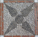 Pebble Mosaic Stock Photo