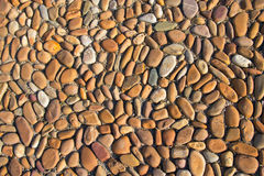 Pebble path. Detailed look at a pebble path in the park Royalty Free Stock Image