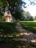 Pebble path Stock Photo