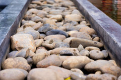 Pebble path Royalty Free Stock Images