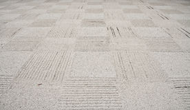Pebble pattern floor Stock Photo