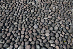 Pebble pattern in pathway abstract Stock Images