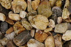 Pebble pattern Stock Image