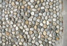 Pebble pavement Stock Photo