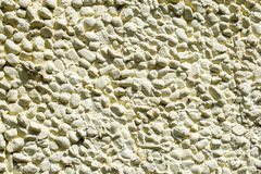 Pebble plaster Stock Image