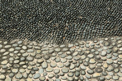 Pebble road Stock Photography