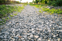 Pebble road Royalty Free Stock Image