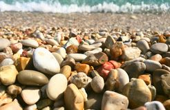 Pebble, Rock, Material, Gravel royalty free stock photography