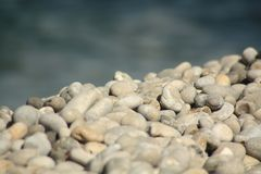 Pebble, Rock, Material, Gravel stock photography