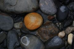 Pebble, Rock, Material, Gravel royalty free stock photos