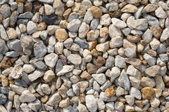 Pebble rock and stone for background texture Stock Photos