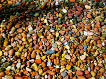 Pebble Rock Texture Royalty Free Stock Photography