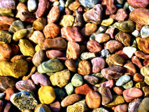 Pebble Rock Texture Stock Photography