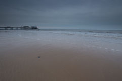 Pebble in the Sand at Cromer Stock Photography