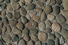 Pebble or shingle seamless texture or background stock photography
