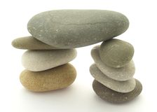 Pebble Stack Stock Image