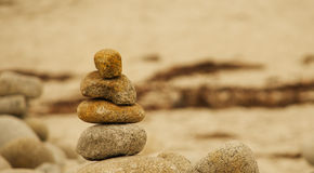 Pebble stack Stock Images