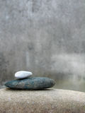 Pebble stacks Royalty Free Stock Images