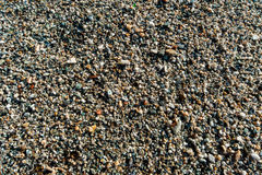Pebble stone background Royalty Free Stock Images