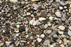 Pebble stone background Stock Image