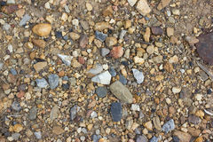 Pebble stone background Stock Photo