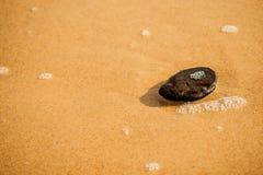 Pebble stone on a beach Stock Photos