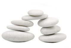 Pebble stone concept Royalty Free Stock Images