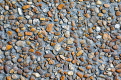 Pebble stone floor Stock Photography