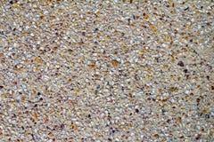 Pebble stone floorbackground. Pebble stone floor tile texture and seamless background Stock Images