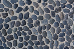 The pebble stone floors 005. The pebble stone floors, background textures Royalty Free Stock Images
