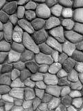 The pebble stone floors, background textures. Tone black and white Stock Photo