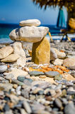 Pebble Stone House Stock Photography