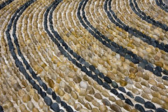 Pebble Stone path Stock Image