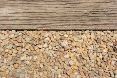 pebble stone and pathway  as background. Stock Image