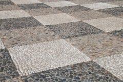 Pebble stone pavement Stock Photography