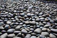 Pebble stone pool Stock Photo