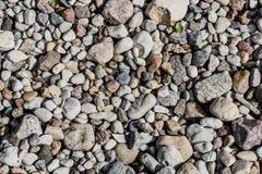Pebble stone texture background Royalty Free Stock Photo