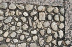 Pebble stone texture Royalty Free Stock Photo