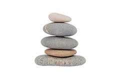 Pebble stone tower Stock Image