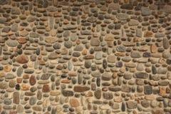 Pebble Stone Wall Stock Photography