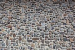 Pebble Stone Wall Stock Image
