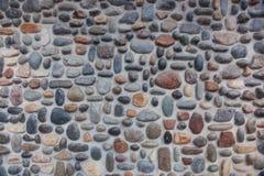 Pebble Stone Wall Stock Photos