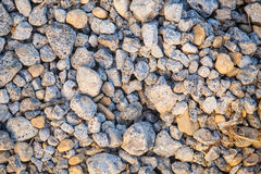 Pebble stones background Stock Images